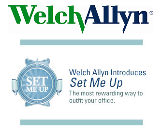 Get your practice or clinic started with Welch Allyn's Set Me Up program